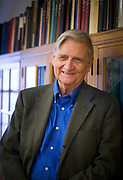 (Cambridge, MA) Edward O. Wilson, Harvard Pelegrino University Research Professor and Curator in Entomology in the Museum of Comparative Zoology inside his office. Staff Photo Justin Ide/Harvard News Office