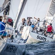 © Maria Muina I Sailingshots.es, 08/09/2017 - Vigo (Pontevedra) - Regata Rey Juan Carlos - El Corte Inglés Máster 2017, Sanxenxo 2017 - Dia 1.