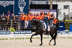Scholtens Emmelie, NED, Desperado<br /> European Championship Dressage<br /> Rotterdam 2019<br /> © Hippo Foto - Stefan Lafrentz<br /> Scholtens Emmelie, NED, Desperado