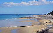 AMHK10 Cromer sandy beach Norfolk England