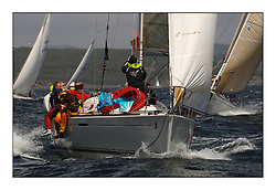 Day 2 of the Bell Lawrie Scottish Series with wild conditions on Loch Fyne for all fleets. Exhilarating and testing racing for Boats and crew...Class 4, GBR8930T, Shadowfax.