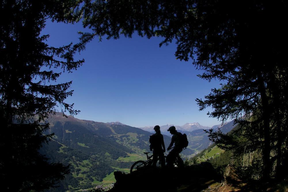 Rider: Karen Heller and Holger Meyer.Location: Verbier (Switzerland)