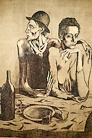 France, Paris (75), Musee Picasso, Le Repas Frugal, 1904 // France, Paris, Picasso museum, The Frugal meal, 1904