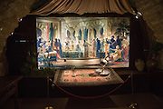 Tableaux display of a Moorish court, Torre de la Calahorra museum, Cordoba, Spain
