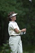 2001 Weetabix Women's British Open, Sunningdale Golf Course, Berks, Great Britain<br />  <br /> [Mandatory Credit Peter Spurrier/Intersport Images]<br /> <br /> Friday 3rd August 2001<br /> <br /> USA - Rosie Jones - 13th tee