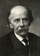 Jules (Emile Frederic) Massenet (1842-1912). French composer. From a photograph by Nadar, pseudonym of Gaspard-Felix Tournachon (1820-1910).