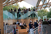 Opening of the 2008 Frank Gehry Serpentine Pavilion. Kensington Gardens. London. 21 July 2008 *** Local Caption *** -DO NOT ARCHIVE-© Copyright Photograph by Dafydd Jones. 248 Clapham Rd. London SW9 0PZ. Tel 0207 820 0771. www.dafjones.com.