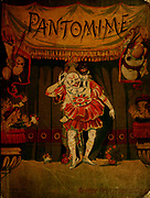 front cover From the book ' Pantomime : a picture show for young people ' Publisher London ; New York : George Routledge & Sons 1883 Printed by Wemple and Company