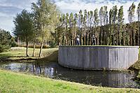 WASSENAAR  (NETH.) - Tee hole 3 , , hole 3.  Golfclub Groendael in Wassenaar. COPYRIGHT KOEN SUYK