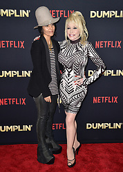 Linda Perry and Dolly Parton attend the premiere of Netflix's 'Dumplin'' at TCL Chinese 6 Theatres on December 6, 2018 in Los Angeles, CA, USA. Photo by Lionel Hahn/ABACAPRESS.COM