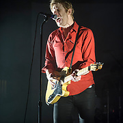WASHINGTON, DC - September 3rd, 2014 - Britt Daniel of Spoon performs during the second of three sold-out nights at the Lincoln Theatre in Washington, D.C. (Photo by Kyle Gustafson / WAMU)