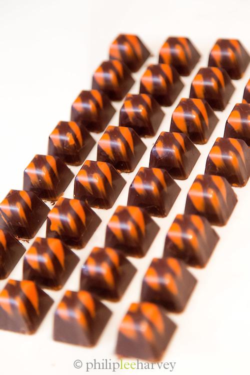 Home made chocolate, Quito, Ecuador, South America