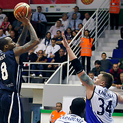 Anadolu Efes's Terence KINSEY (L) during their Turkey Cup Qualifying basketball first match Anadolu Efes between Turk Telekom at Aliaga Arena in Izmir, Turkey, Sunday, October 9, 2011. Photo by TURKPIX