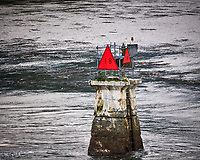 Route Marker 18 in Wrangell Narrows. Image taken with a Nikon D300 camera and 70-300 mm VR lens.