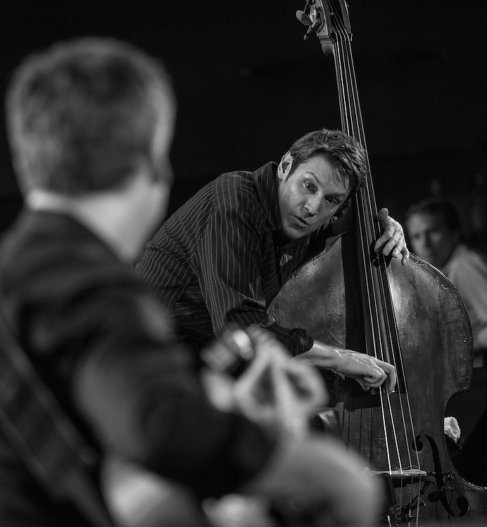 7/11/2013 - New York, NY. The Ben Allison Group performs at Dizzy's Club at Lincoln Center