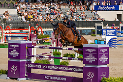 Martinengo Marquet Giulia, ITA, Elzas<br /> European Championship Jumping<br /> Rotterdam 2019<br /> © Dirk Caremans<br /> Martinengo Marquet Giulia, ITA, Elzas