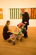 camilla skovhuus; rebecca skovhuus; jesper skovhuus. Per Kirkeby Opening Reception and Dinner. Tate Modern. 16 June 2009.