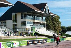 Ashley Gowanlock, (CAN), Ferdonia 2 - Horse Inspection Para Dressage - Alltech FEI World Equestrian Games™ 2014 - Normandy, France.<br /> © Hippo Foto Team - Jon Stroud<br /> 25/06/14