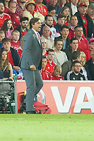 Football - 2017 / 2018 _Wales v Austria_FIFA World Cup Qualifier 2018<br /> <br /> Wales manager Chris Coleman shouts on the touchline--- at Cardiff City Stadium.<br /> <br /> COLORSPORT/WINSTON BYNORTH