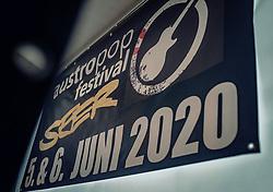 21.06.2019, Baumbar Areal, Kaprun, AUT, Austropop Festival, im Bild Ankündigungsplakat Austropop Festival 2020 mit der Band die Seer // during the Austropop Music Festival in Kaprun, Austria on 2019/06/21. EXPA Pictures © 2019, PhotoCredit: EXPA/Stefanie Oberhauser
