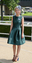 MARTHA WARD at the 2nd day of the 2013 Royal Ascot Horseracing festival at Ascot Racecourse, Ascot, Berkshire on 19th June 2013.