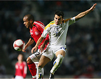 v.l. David Odonkor Deutschland, Konstantinos Charalampidis<br /> EM-Qualifikation Zypern - Deutschland<br /> Cyprus - Germany <br /> Kypros - Tyskland<br /> Norway only