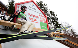 Robert Kranjec of Slovenia during Flying Hill Team at 3rd day of FIS Ski Jumping World Cup Finals Planica 2011, on March 19, 2011, Planica, Slovenia. (Photo by Vid Ponikvar / Sportida)