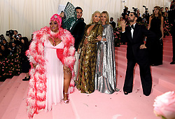 Lizzo, Rita Ora and Kate Moss attending the Metropolitan Museum of Art Costume Institute Benefit Gala 2019 in New York, USA.