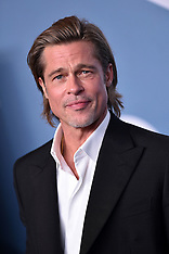 Brad Pitt Holding Shots - 20 Jan 2020