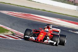 February 27, 2017 - Barcelona, Spain - Motorsports: FIA Formula One World Championship 2017, Test in Barcelona,.#5 Sebastian Vettel (GER, Scuderia Ferrari) (Credit Image: © Hoch Zwei via ZUMA Wire)