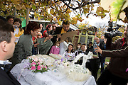 Radu Esanu in october 2008 when he got married with Andrea in Botosani, Romania