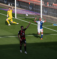 Blackburn Rovers' Lewis Holtby (right) shows his frustration as his goal is offside.<br /> <br /> Photographer David Horton/CameraSport <br /> <br /> The EFL Sky Bet Championship - Bournemouth v Blackburn Rovers - Saturday September 12th 2020 - Vitality Stadium - Bournemouth<br /> <br /> World Copyright © 2020 CameraSport. All rights reserved. 43 Linden Ave. Countesthorpe. Leicester. England. LE8 5PG - Tel: +44 (0) 116 277 4147 - admin@camerasport.com - www.camerasport.com