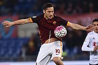 Francesco Totti Roma <br /> Roma 04-03-2016 Stadio Olimpico, Football Calcio Serie A 2015/2016 AS Roma - Fiorentina.  Foto Andrea Staccioli / Insidefoto