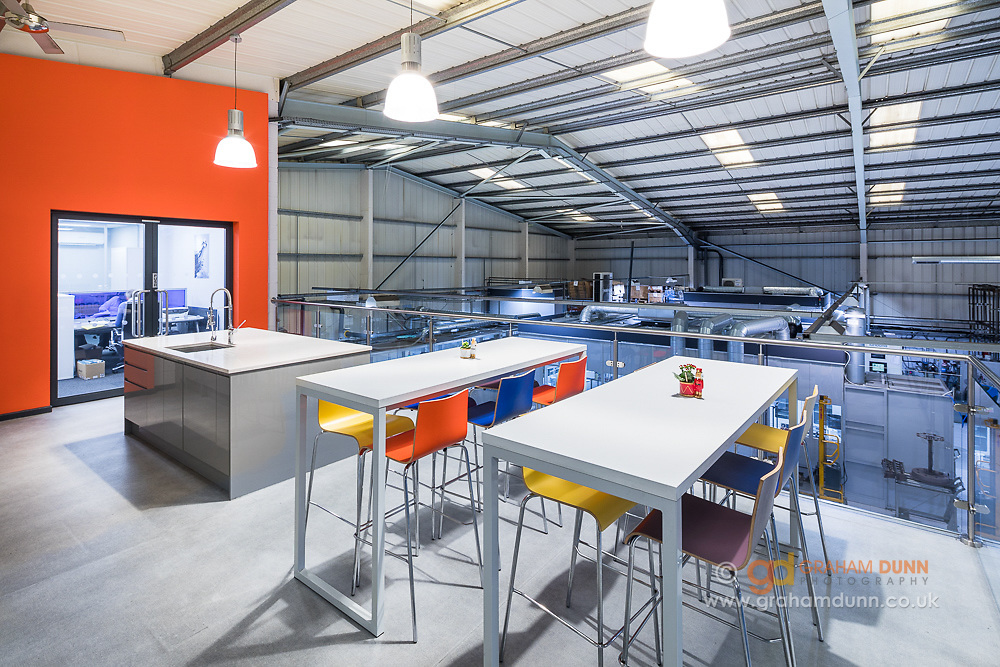Office & industrial interior photography