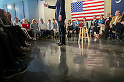 BEAUFORT, S.C. _ FEBRUARY 17, 2016: Presidential candidate Jeb Bush speaks to supporters during a campaign stop, Wednesday, Feb. 17, 2016 in Beaufort, S.C.  CREDIT: Stephen Morton for The New York Times
