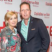 NLD/Utrecht//20170323 - Première 'Believe' van Holiday On Ice, Rob Geus en partner Suzan Ozbek