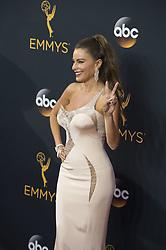 September 18, 2016 - Los Angeles, California, U.S. - SOFIA VERGARA arrives for the 68th Annual Primetime Emmy Awards, held at the Nokia Theatre. (Credit Image: © Kevin Sullivan via ZUMA Wire)