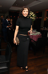 MARIE HELVIN at a St.Valentine's dinner hosted by Ruinart champagne at Tom Aikens Restaurant, Elystan Street, London on 6th February 2007.<br /><br />NON EXCLUSIVE - WORLD RIGHTS