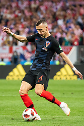 July 11, 2018 - Moscow, Russia - 180711 Ivan Perisic of Croatia during the FIFA World Cup semi final match between Croatia and England on July 11, 2018 in Moscow..Photo: Petter Arvidson / BILDBYRÃ…N / kod PA / 92085 (Credit Image: © Petter Arvidson/Bildbyran via ZUMA Press)
