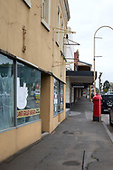 A view of the main street during COVID-19 in Kilmore, Australia. An outbreak which started in Chadstone in Melbourne, has spread as far as Benalla. Twenty-eight people linked to the outbreak have now tested positive for COVID-19. There are now two confirmed cases in Kilmore linked with a Melbourne Resident who carried the virus into the town. The person visited the Odd Fellows Cafe in Kilmore which lead to him spreading the virus to a staff member, and a customer. The cafe has been closed for deep cleaning and will remain closed until the 19th October. (Photo by Dave Hewison/Speed Media)