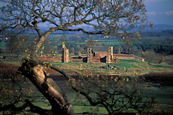Bradgate House, the birthplace and early home of Lady Jane Grey, Bradgate Country Park, Leicestershire, England, United Kingdom.