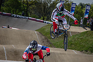 #125 (DEMONT Jonathan) SUI at the 2016 UCI BMX Supercross World Cup in Papendal, The Netherlands.