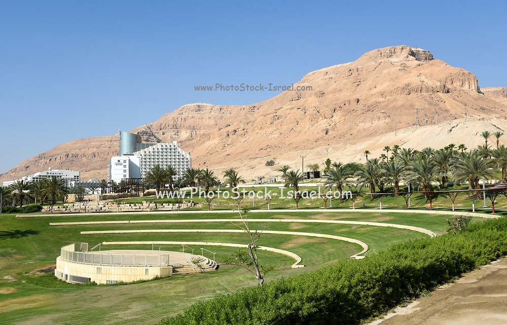 Israel, Dead Sea, resort Hotel area
