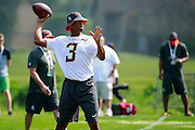 January 28 2016: Tamp Bay Buccaneers quarterback Jameis Winston during the Pro Bowl practice at Turtle Bay Resort on North Shore Oahu, HI. (Photo by Aric Becker/Icon Sportswire)