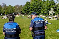 Covid-19 - Police Controls - Rotterdam 28 April 2020