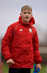 CARDIFF, WALES - Monday, November 19, 2018: Wales' David Brooks during a training session at the Vale Resort ahead of the International Friendly match between Albania and Wales. (Pic by David Rawcliffe/Propaganda)