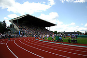 General view of Hayward Field during the Bowerman Mile  in the 31st Prefontaine Classic, Saturday, June 4, 2005, in Eugene, Ore.