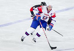 Tomaz Razingar of Slovenia during ice-hockey match between Slovenia and Japan at IIHF World Championship DIV. I Group A Slovenia 2012, on April 16, 2012 in Arena Stozice, Ljubljana, Slovenia. (Photo by Vid Ponikvar / Sportida.com)