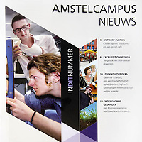 Tekst en beeld zijn auteursrechtelijk beschermd en het is dan ook verboden zonder toestemming van auteur, fotograaf en/of uitgever iets hiervan te publiceren <br /> <br /> HvA Amstelcampus Nieuws Studentuitvinders