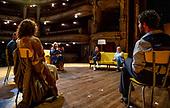 Koningin Máxima bezoekt Internationaal Theater Amsterdam
